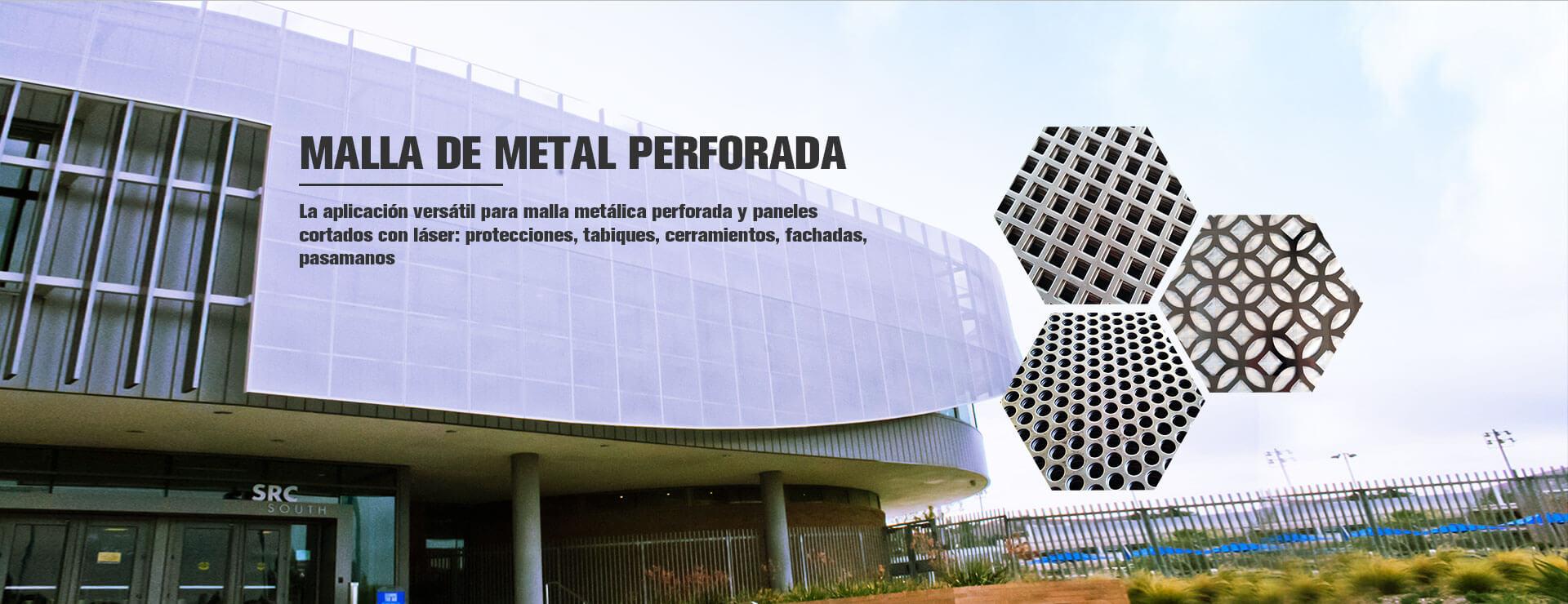 Malla Metálica Perforada