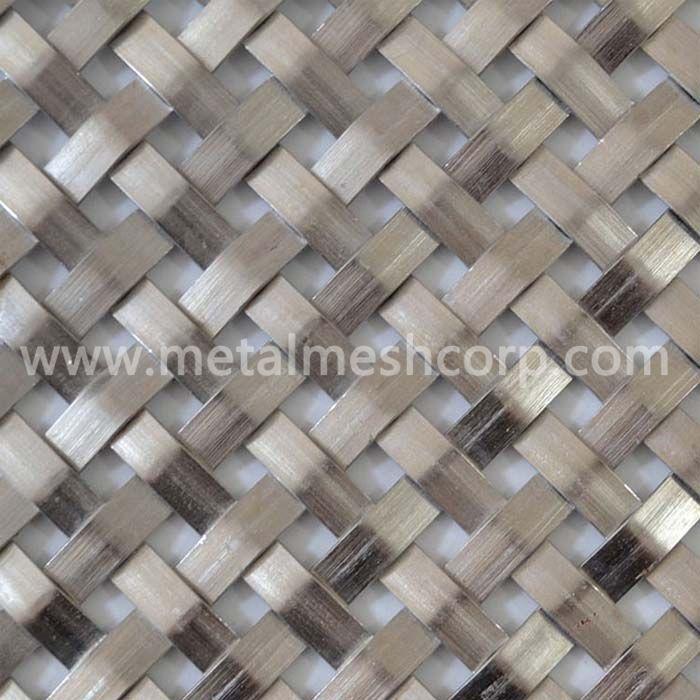 Flat Woven Architectural Metal Mesh