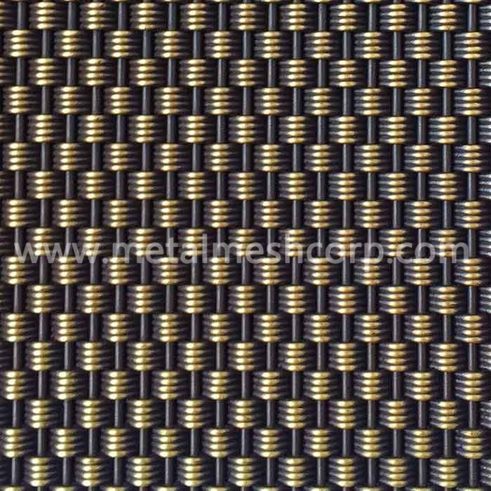Architectural Decorative Woven Wire Mesh