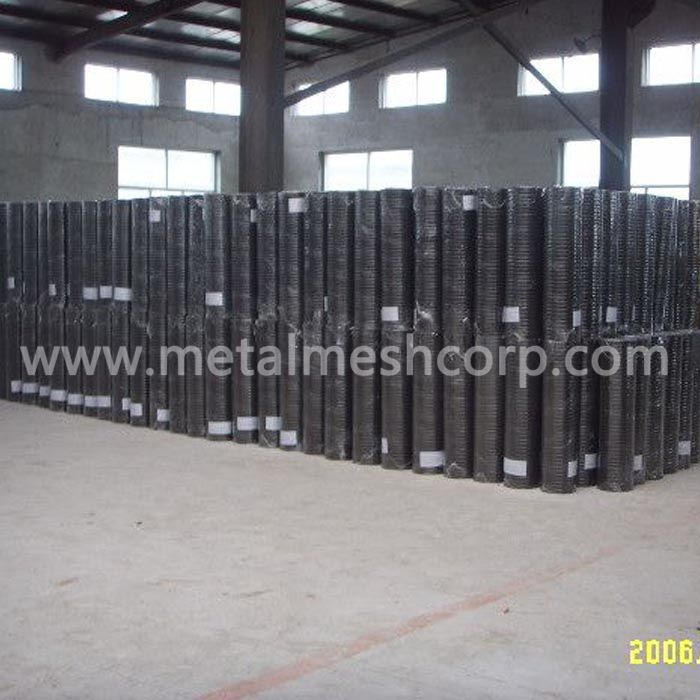 Black Steel Welded Wire Mesh
