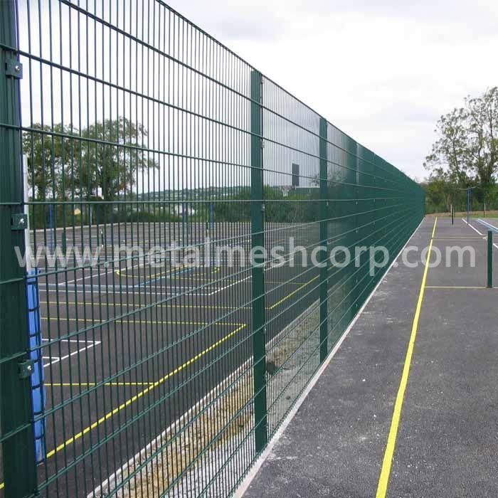 Powder Coated 358 Mesh Fence
