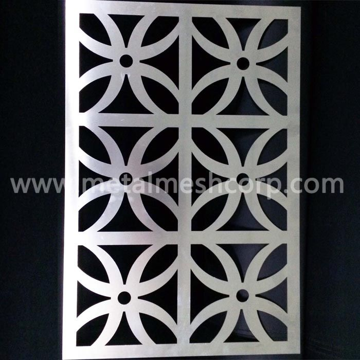 Laser Cut Aluminum Panels