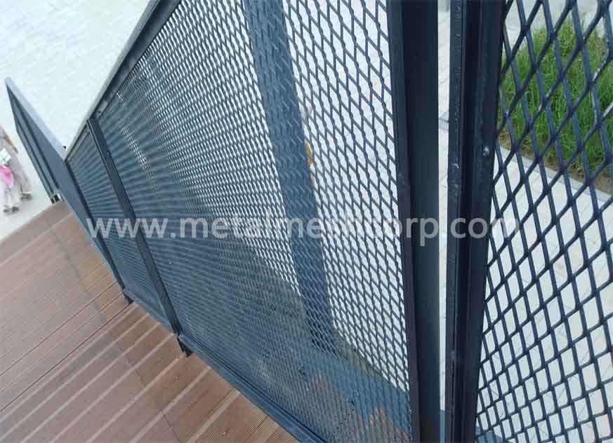 Valla de metal expandida de seguridad