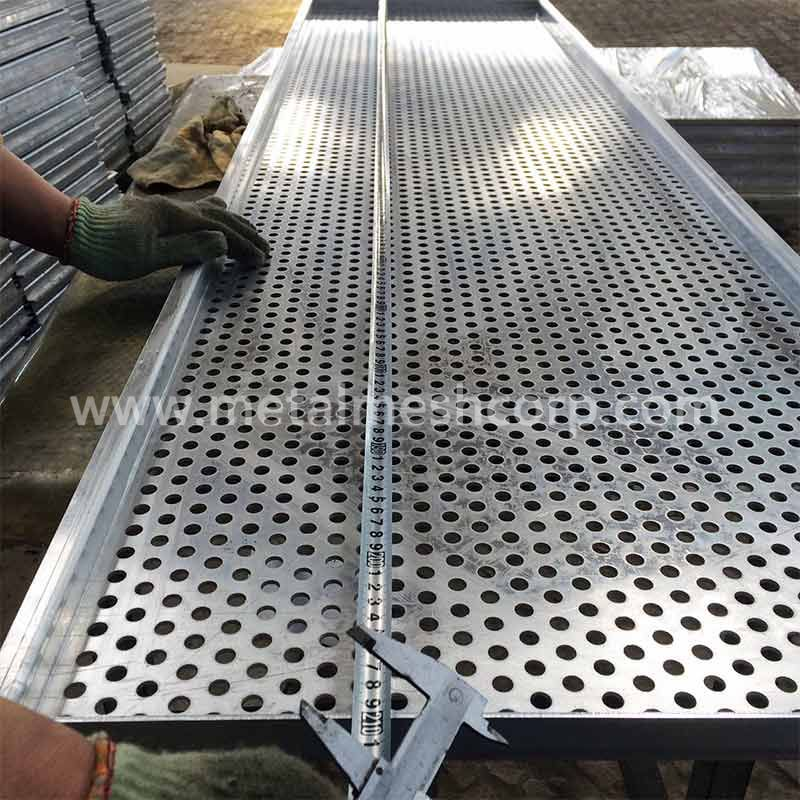 Decorative Perforated Railings