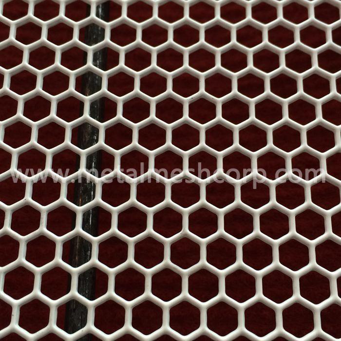 Hexagonal Hole Perforated Metal Sheet