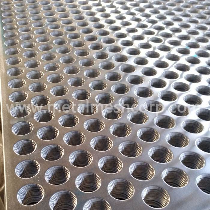 Round Hole Perforated Aluminum Sheet