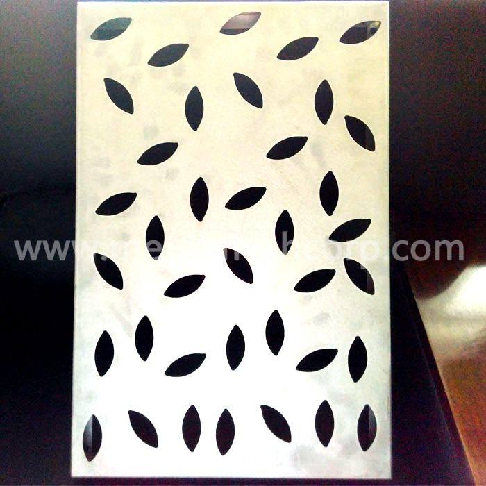 PVDF Coated Aluminum Perforated Mesh