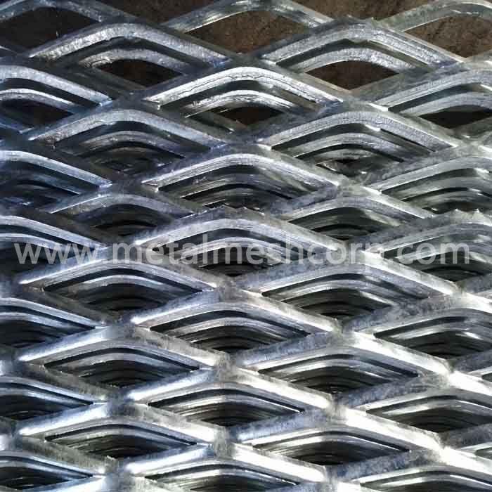 Zinc Coated Expanded Metal Sheet